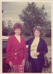 Mary and Pat, 1972