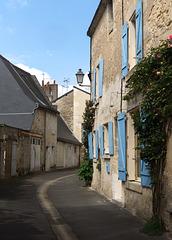 Straße in Azay-Le-Rideau