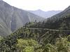 La route de la mort en Bolivie