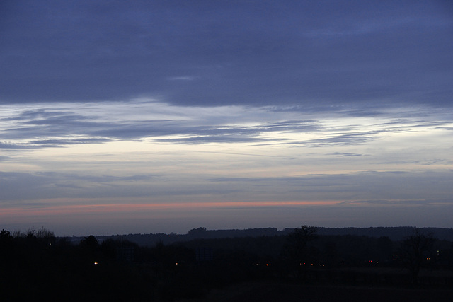 Sundown over The Chase
