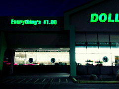 Everything's $1.00 DOLL