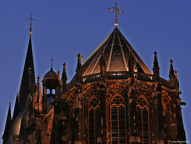 Aachener Kaiserdom - Apsis