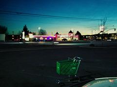 $1.00 store cart