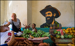Cienfuegos at the market