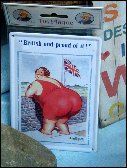 British and proud of it!