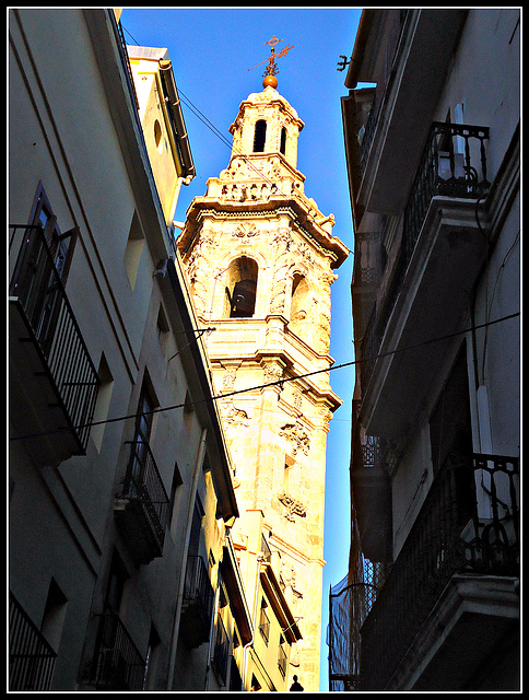 Valencia: torre de Santa Catalina