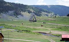 Cumbres & Toltec Railroad chase (# 0136)
