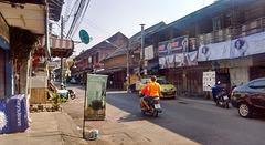 A simple street scenery