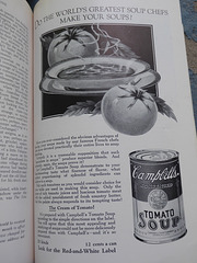 Campbell's soup ad, Nov. 1925 National Geographic