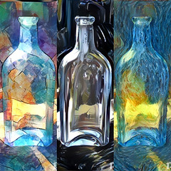 11/50 Bottle Art Collage