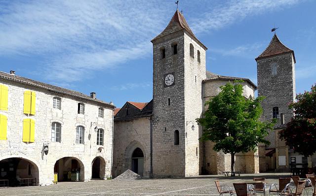 Cité médiévale de Lauzerte.