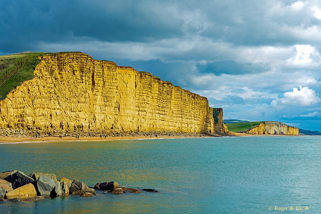 Sunlit Cliffs