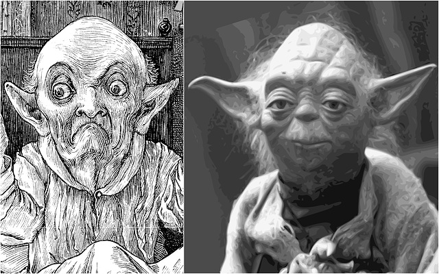 The Baker's uncle Yoda's relative is