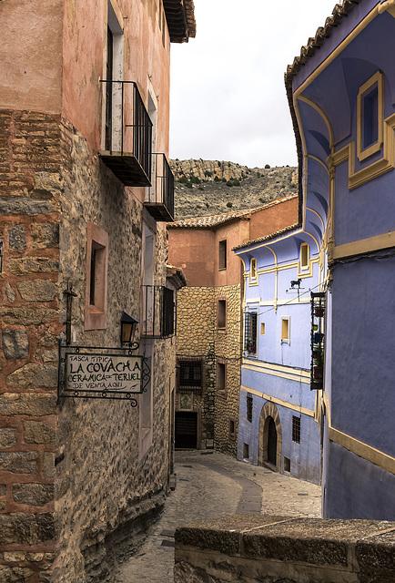 Calle del Chorro, Albarracín