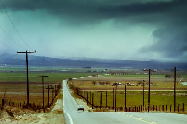 Along Maricopa Highway (California Rte. 33) March 1980
