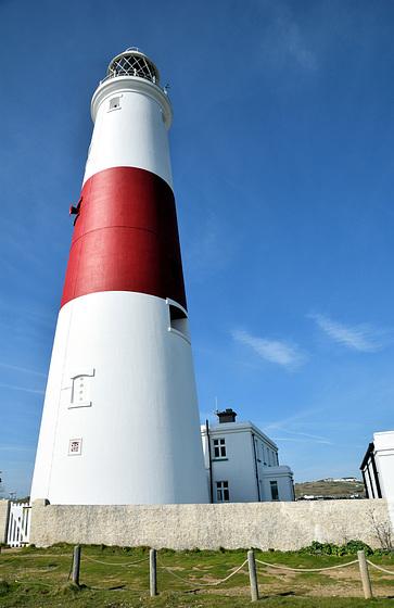 Portland Bill Lighthouse.