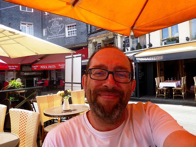 FR - Honfleur - me, at the Old Port