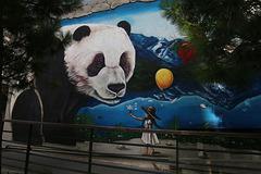Fresque murale de Doudou Style - Quartier chinois