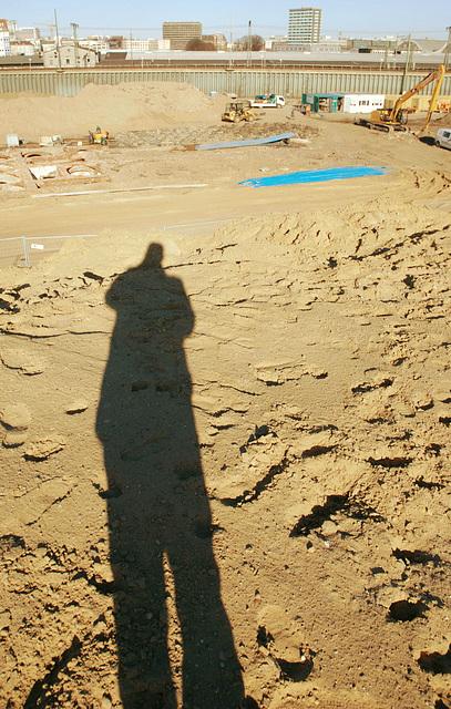 Baustelle Lohse-Park im März 2014