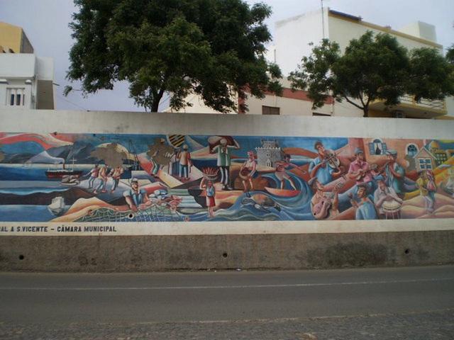 Mural to São Vicente.