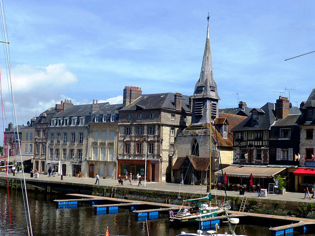 FR - Honfleur - Old Port
