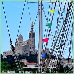 Marseille : Una zoommata dal porto turistico