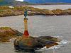 Leuchtturm  Hafeneinfahrt  Svolvaer