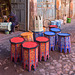 colors dancing tables