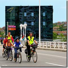 """""""En bicicletas"""" - Gijón - Asturias"""