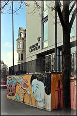 Brechts Fußspuren -  Brecht's footsteps: Peutinger Gymnasium/High School