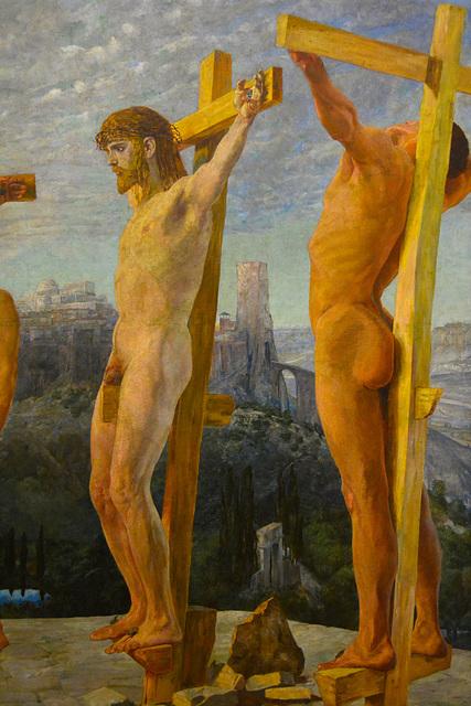 Leipzig 2015 – Museum der bildenden Künste – Die Kreuzigung Christi by Max Klinger