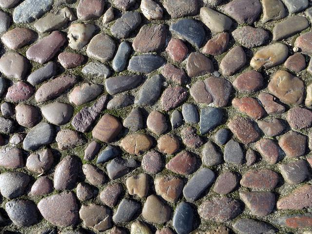 Textur Kopfsteinpflaster