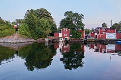Fiskhuset. Fiskehoddorna. Malmö, 2.8. 2018