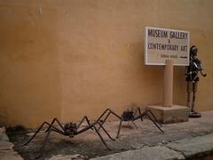 Contemporary Art display.