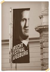 """Brechts Fußspuren -  Brecht's footsteps: """"Happy Birthday!"""""""