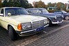 1978 Mercedes-Benz 200 & 1966 Volvo Amazon stationcar