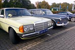 1978 Mercedes-Benz 200 & 1966 Volvo Amazon stationcar