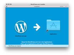 WordPress app DMG install