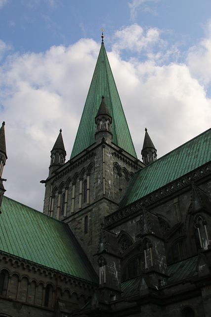 Nidaros Cathedral roof