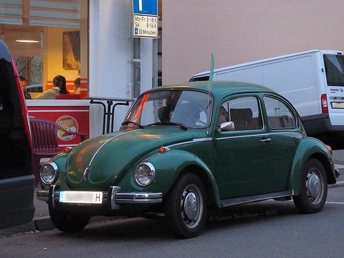 Grüner Käfer