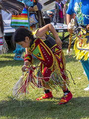 Young Indigenous Dancer