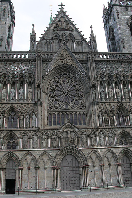 Nidaros Cathedral Entrance