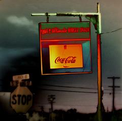 Stop for Coca Cola
