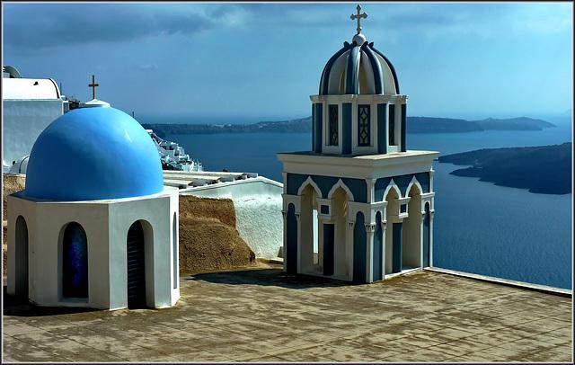 Santorini : Un panorama esclusivo Thera -  (973)