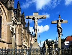 DE - Xanten - Crucifixion group at St. Viktor