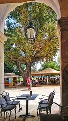 View from the Liston, Corfu, Greece