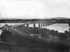 Severn Bridge - for the railway at Lydney Gloucestershire