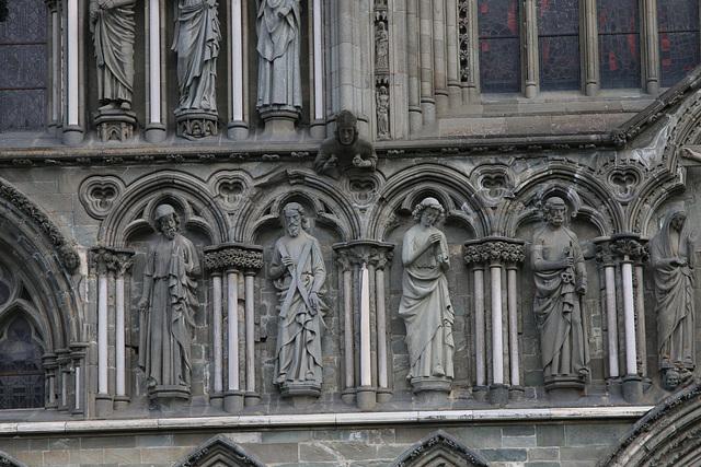 Nidaros Cathedral facade 2