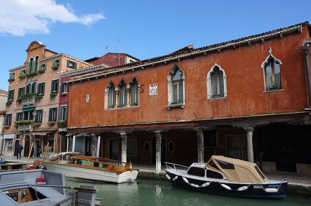 Old pillared building, Murano