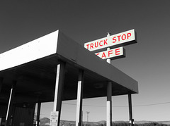 Trucker's cafe
